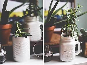 Pot Pour Plante : mes 5 id es diy de pots pour plantes originaux et r cup we wash trash blog d co voyages ~ Teatrodelosmanantiales.com Idées de Décoration