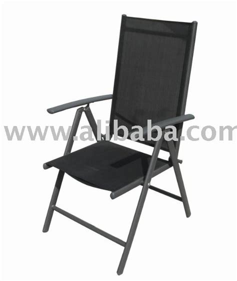 Used Folding Chairs Wholesale by Garden Furniture 7 Position Reclining Chair Aluminum Sling