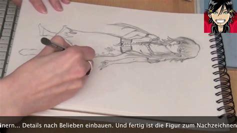 wie man eine manga figur zeichnet tutorial auf anfrage