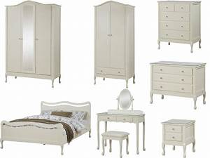 Loire shabby chic ivory bedroom furniture wardrobe for Bedroom furniture sets malta