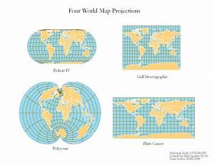 Qgis - World Map Different Projection