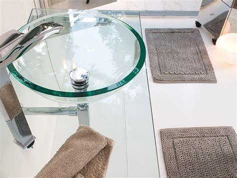 Waschtisch Mit Glaswaschbecken by Glaswaschbecken Waschtisch Komplett Transparent 42cm Rund