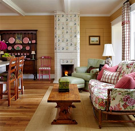 colorful farmhouse charming home  town country living