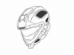 How To Draw A Spartan Helmet From Halo 3 - Best Helmet 2017