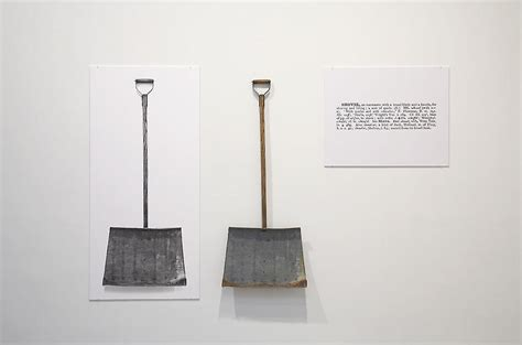 Joseph Kosuth One And Three Chairs by One And Three Shovels Joseph Kosuth Wikiart Org