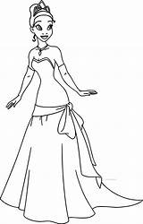 Coloring Princess Disney Pages Tiana Frog Dress Perfect Colouring Rocks Princesses Cinderella Sheets Printable Elsa Anna Colors Print Belle Prince sketch template