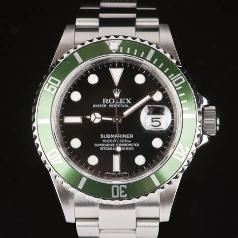 Buy Rolex Submariner Date Green Bezel 50th Anniversary ...