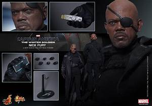 Hot Toys Nick Fury Winter Soldier Figure Up for Order ...