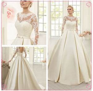 Simple Lace Wedding Dresses 2017 Mermaid Fitted Wedding ...