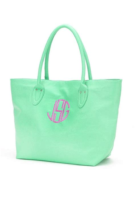 wholesale boutique monogrammed tote  richmond  trend