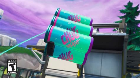 fortnite  patch notes  update brings chug splash