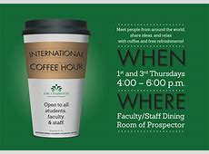 International Coffee Hour International Student