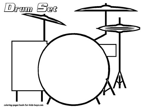 drum stencil template rock and roll coloring pages drums coloring drums