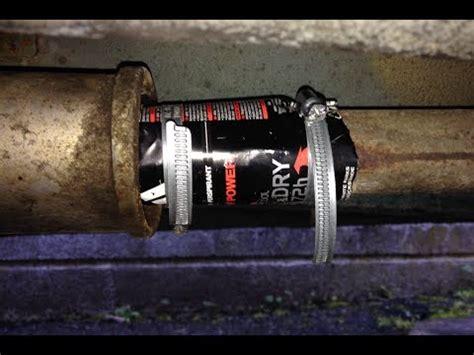 reparer pot d echappement comment r 233 parer pot tuyau d 233 chappement en 5 minutes de superdado57