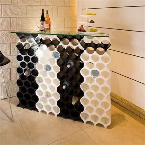 range bouteille cuisine casier bouteilles design koziol