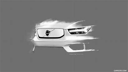 Volvo Recharge Xc40 Sketch
