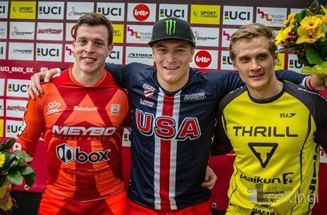 Treimanis izcīna trešo vietu Pasaules kausa posmā BMX superkrosā - Sports - Latvijas reitingi