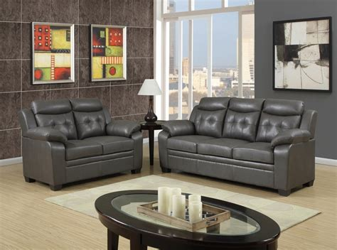 Sofa For Apartment Living by Grey Apartment Size Casual Contemporary Bonded Leather