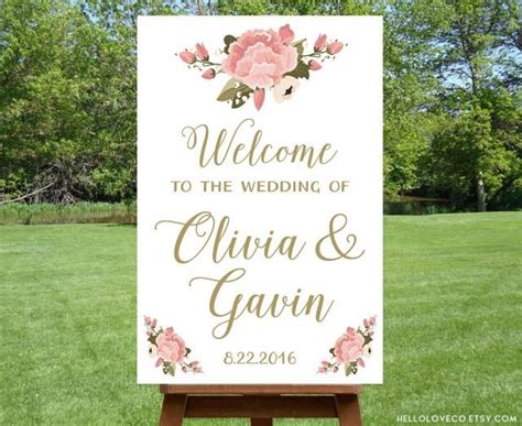 wedding reception entrance wording printable large wedding welcome sign personalized wedding sign reception entrance sign floral