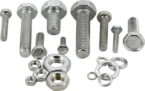 Bolts Nuts In All Types Of Heads And All Sizes
