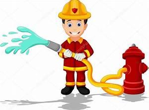 Cartoon fireman — Stock Vector © starlight789 #66432581