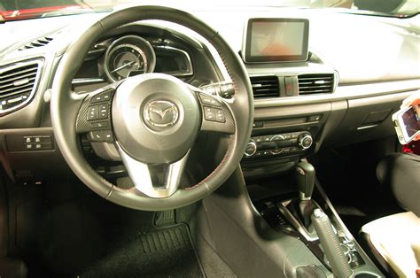 mazda interior photo