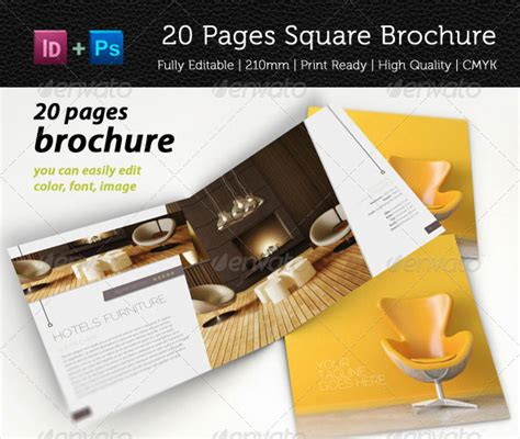 Multi Page Brochure Template by Multi Page Brochure Template 25 Best Brochure Design