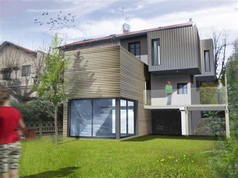 extension maison exemple extension contemporaine maison rhone ocube architecture