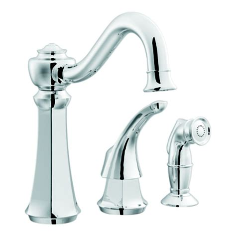moen kitchen faucets home depot canada chrome one handle high arc kitchen faucet