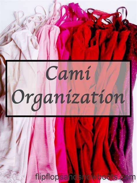 cami organization closet space saving tip design diy