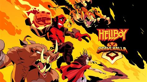 hellboy  coming  brawlhalla   time