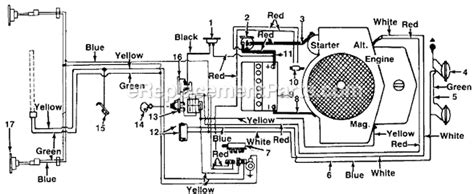 Yardman Riding Lawn Mower Wiring Diagram