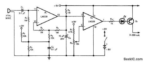 Sound Activated Switch Control Circuit