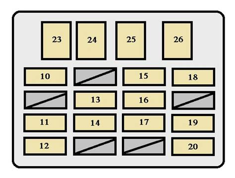 Toyota Tundra Fuse Box Diagram Free Download Oasis