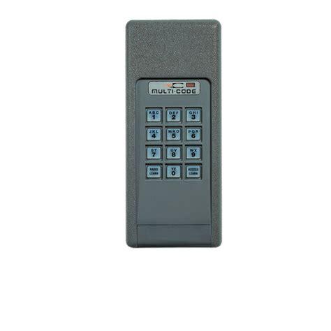 multi code garage door keypad multi code 4200 wireless digital keypad keyless entry by