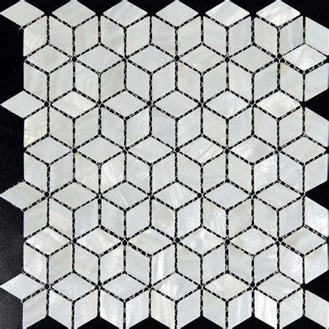 100 wholesale mother of pearl mosaic shell tile