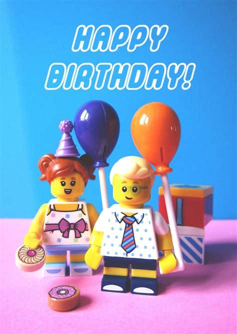 lego happy birthday geburtstagskarten sprueche echte