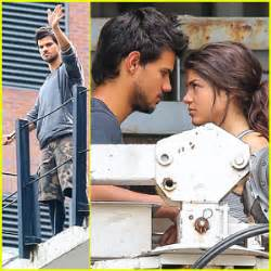 Taylor Lautner & Girlfriend Marie Avgeropoulos Are Still ...