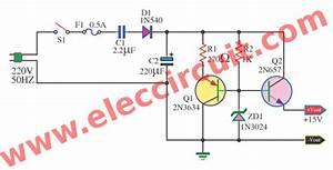 Circuit Diagram For 230v Ac To 5v Dc