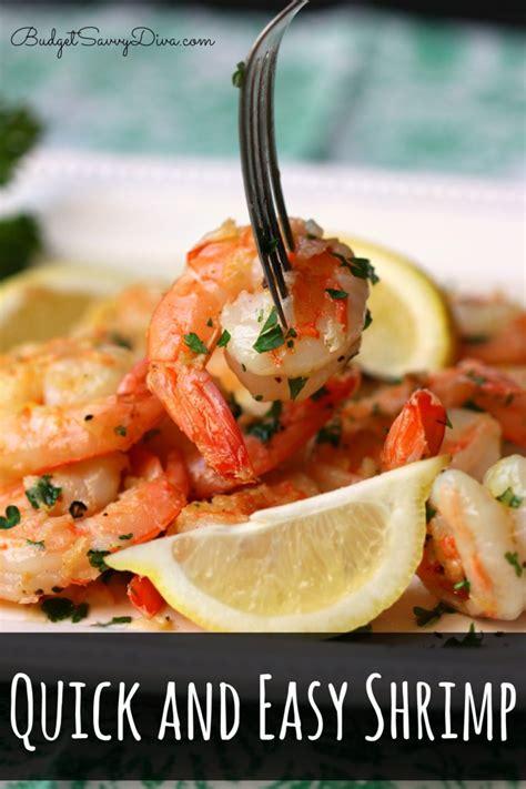 quick  easy shrimp recipe budget savvy diva