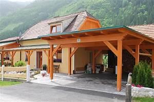 das passende carport vom steirischen holzbau meister With garten planen mit carport balkon kombination