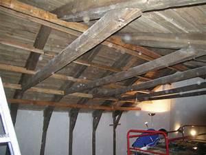 Laine De Bois 100mm : isolation laine de bois en sous toiture de isolation ~ Melissatoandfro.com Idées de Décoration