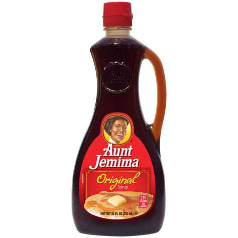 Aunt Jemima Original Syrup 24 FL OZ SQUEEZE BOTTLE - Food ...