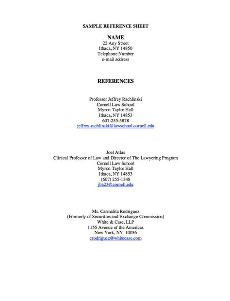 pin by ririn nazza on free resume sle reference page