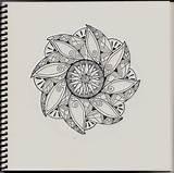 Zentangle Patterns Printable Simple Adults Coloring Bestcoloringpagesforkids Tj Sharpie Pen Flickr sketch template