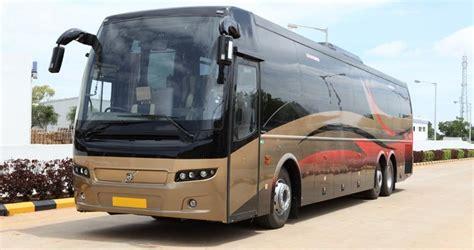 volvo launches   buses  india goa  wheels