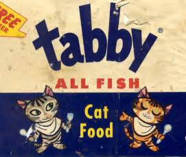 Tabby Cat Food Labels