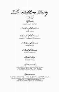 monogram wedding ceremony program examples wedding With order of service for a wedding ceremony