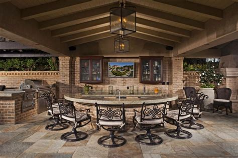 Outdoor Bar Designs by 12 Gorgeous Outdoor Kitchens Hgtv S Decorating Design