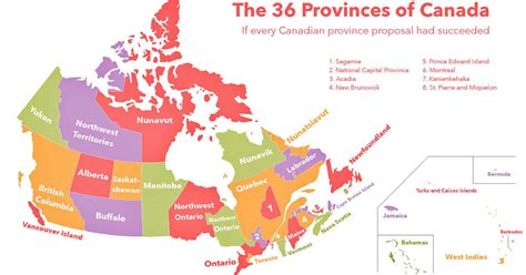 map shows  canada